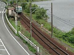 塩郷の吊り橋から塩郷駅