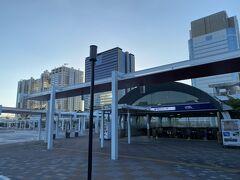 最後は東京テレポート駅から帰りました。  今度は夜に来て夜景を楽しもうと思います。  今回もご覧いただきありがとうございました。