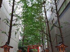 新宿へ移動して花園神社