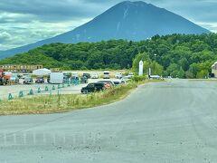 ちょっとだけお出かけします。 山を下りて、倶知安の街に行きます。