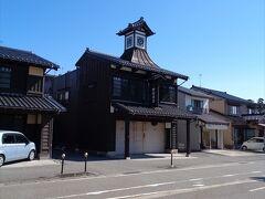 建物が特徴的な田村酒店.
