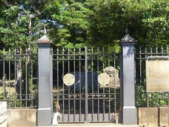 徳川慶喜公墓所全景(入口)