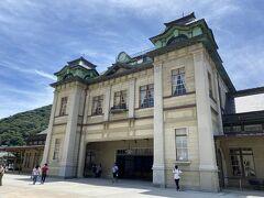 門司港駅とかとても良いです。 ザ昭和レトロって感じで。 帰りは電車で帰りましょうかね。