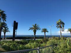 駐車場から見た馬堀(まぼり)海岸 露天風呂は馬堀海岸に面するように横長に作られているので、この写真のような風景が広がっています。  撮影禁止でしたので、公式HPをご参照下さい。 https://www.yurakirari.com/yura/yokosuka/spa.html
