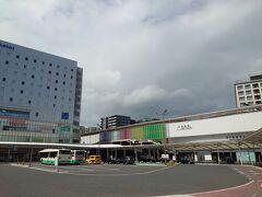 JR奈良駅に到着しました(^^)  駅に置いてあったバス路線図をゲットし、観光案内地図を撮影して、取り敢えず歩いてみます(^^)