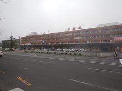 釧路駅駅舎。