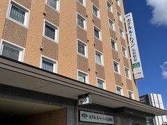 ホテルはルートインの弘前駅前へ! この時期の弘前のホテルが高くて(´;ω;`) 選択肢もあまり無くここにしました!