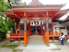 拝殿です。 神社自体の創建は1794年に前田家藩校の守護神として建てられたようですす。