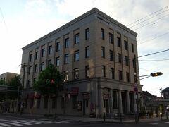 旧三菱銀行小樽支店。 大正11年(1922年)築。鉄筋コンクリート造り。