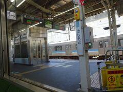 橋本駅。初めてきた。乗り換えたんだっけ?忘れた。