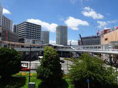 海老名駅。駅の左右にSCがありとても買い物しやすい。住んでもいい町リストに入れました。