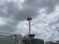 今回はJR京都駅からスタート。 お久しぶりの京都タワー。