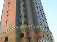 長野市内に戻って、ホテルにチェックイン