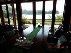 さて後編は、松島佐勘での朝食からです 松島の海を楽しめるレストランで・・・。
