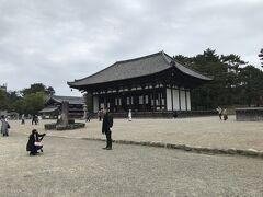 国宝の興福寺東金堂。