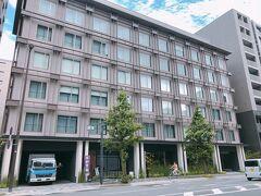 今回の移動は密と接触と暑さを回避すべく、すべてタクシーを利用 早速ホテルへ  HIYORIチャプター京都 トリビュートポートフォリオホテルです(長い!)
