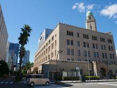 横浜税関、ここの塔はクィーンと呼ばれて ジャック、キング、クィーンが集まるこの一角
