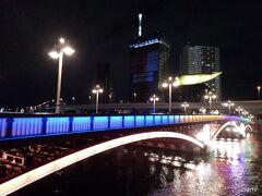今日は、吾妻橋からスタート。