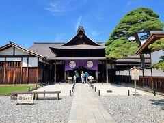 高山陣屋へ。 日本最古の役所だそうです。