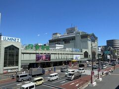 今回は新宿からスタート。 この日は東京でも35℃を超える酷暑となりました。 この時正午前でしたが、少し歩いただけでも汗が出てきました。
