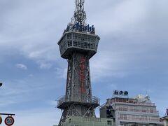 早めに別府駅に戻ってきました バスの出発まで時間があったので予定していなかった別府タワーに上ってみました
