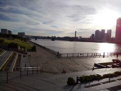 豊洲公園から晴美大橋方面を撮影