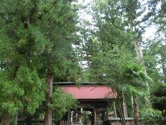 ラウンド後、大子町の近津神社へ