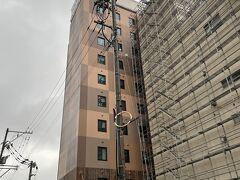金沢のスーパーホテル。プレミアムシリーズは高級感あります。