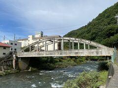 ホテル近くにある大手橋。 世界最初の鉄筋コンクリートローゼ桁橋で、土木遺産に認定されているそうです。