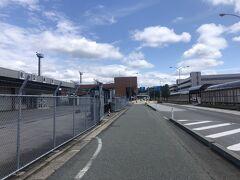 秋田空港到着