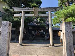 宇多須神社。