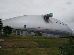 札幌ドーム到着。