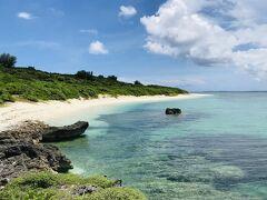 大好きな西の浜で、ひたすらボーっと海を眺める