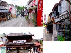 成田まで戻ってきました。 京成成田駅を出て参道を新勝寺[https://www.naritasan.or.jp/]に向かって歩きます。 新しい建物も景観を守るために色を抑え目にしてあります。 車よく通る狭い道を道なりに歩いて行くとやがて下り坂となります。 坂の両側は割と古めの建物が並んでいて、趣があります。 降り切ったところが新勝寺です。