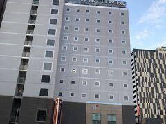 1日目の宿はホテルウイングインターナショナル旭川駅前 立地が良すぎる~ 駅が目の前、イオンモールが目の前、繁華街が目の前、コンビニ隣接!