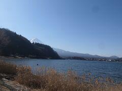 10:20 河口湖に来ました。