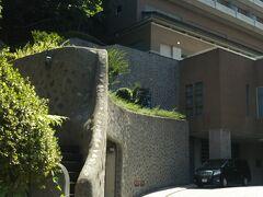 地下鉄の出口からすぐ。 ウェスティン都ホテル京都に到着です。