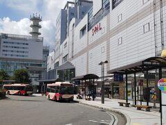 山形駅から街歩きスタート。仙台と比べると静か。