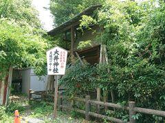 美術館を出て裏通りを歩いていると大井神社という小さな神社が。