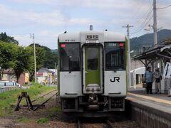 湯本駅から、8時01分発の列車で、昨日降りたいわき駅へと向かう。 そして、8時43分発の磐越東線の郡山行に乗り換えた。 そして、あぶくま洞の最寄り駅である神俣駅には、9時33軍に到着。