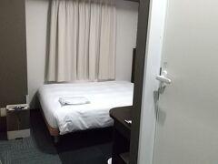 今宵のホテルコンフォートホテル東京清澄白河。