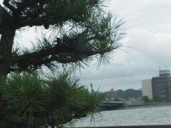 以前に松江に来た時はこの周辺の宿に泊まりました。