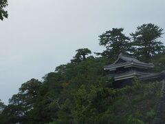 今回は公園だけで登りませんでしたが、以前天守閣に入った事のある松江城。