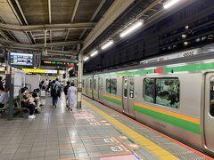 東神奈川から横浜に出て、湘南新宿ラインで池袋へ。 少し楽しちゃいましたが、長い移動でした。  翌日からはしばらく雨の予報で、出掛けることもままならないようです。  青春18きっぷもあと2日分残っているので、残りの盆休みは次の旅行の計画でも立てていようかと思います。  今回もご覧いただきありがとうございました。