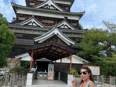広島城は入れなかったのでここまで 中も見てみたかった…