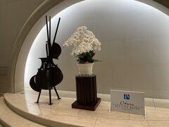 浜松は音楽の街ってことで、ホテル内には楽器や音楽モチーフが散見された。