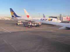 羽田空港。 7時45分発の便で鹿児島空港に向かいます。