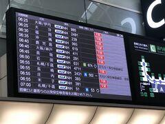 7月18日(日) 旅行1日目  6:20 羽田空港  欠航の文字が多いのがとても寂しい。  この時期の旅行、すごく悩みましたが、3日前にPCR検査を受けて陰性との証明をもらって行くことにしました。(ANAのPCR検査サービスを利用。政府のモニタリング検査はまだ始まっていませんでした。)  長男は部活が忙しく出かけられないので、初めて1人で留守番させることに。大量のおかずを作って冷凍食品とともに置いていきます。 次男と娘はお兄ちゃんが行かないのは残念そうでしたが、仕方ない。 家族全員揃って旅行に行くのは、年々難しくなってきてます。  ペットの犬は羽田空港ペットホテルに初めて預けました。 ペットホテルは羽田空港駐車場P4 の1階にあり、我が家はいつも車で空港に行くのですごく便利です。前泊、後泊が必要ないのも料金的にありがたい。 次からもここを使おう。  夏休みに入る直前の早朝なので、きっと空港はがら~んとしているのだろうな・・・、と思っていたのですが、意外に人がいます。 仕事の人が半分、レジャーの人が半分、という感じ。