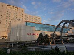 ●JR豊橋駅  この背の高い部分がホテルです。 駅とホテルが直結しているのはかなりの強みですよね。