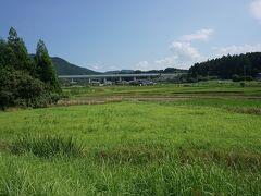 ●長篠・設楽原の古戦場跡界隈  そんな古戦場も今は、蝉の声だけが賑やかなだけ…。